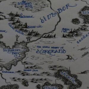"""Ënergieu"" - map - black and blue pen on white paper"
