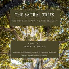 The Sacral Trees / Piano Reduction Full Set (Print)